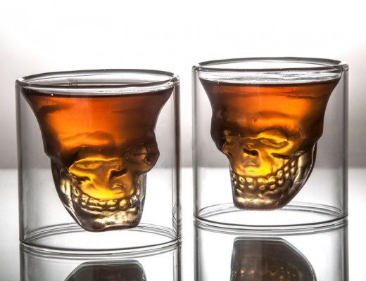 Fred Friends Doomed Crystal Skull Shot Glass