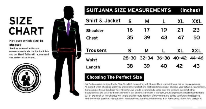 Barney Stinson Pajama Suit