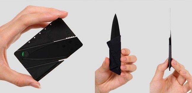 Credit Card Knife Survival Life