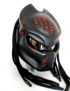 Predator Motorcycle Helmet Dreads