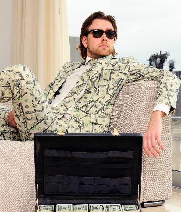 Cashanova Dollar Bill Suit