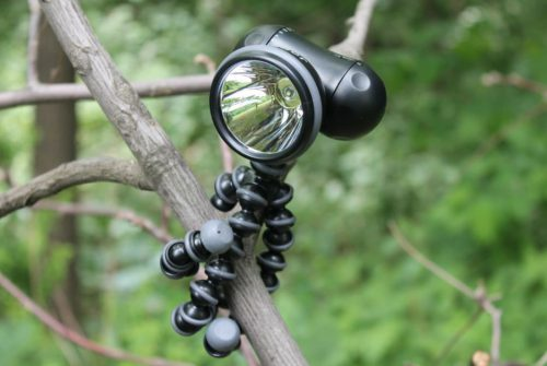 Flexible Tripod Flashlight