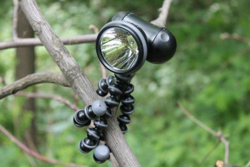 Flexible Tripod Flashlight