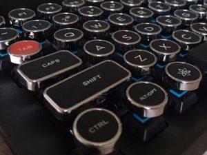 ipad typewriter keyboard
