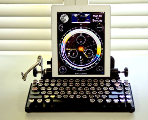 ipad typewriter keyboard