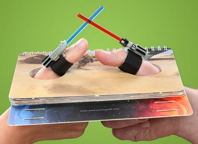 Lightsaber Thumb War