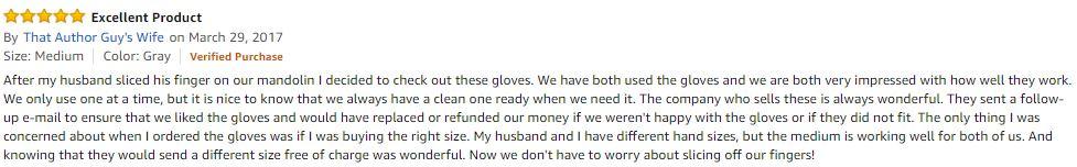 Cut Resistant Gloves Ratings